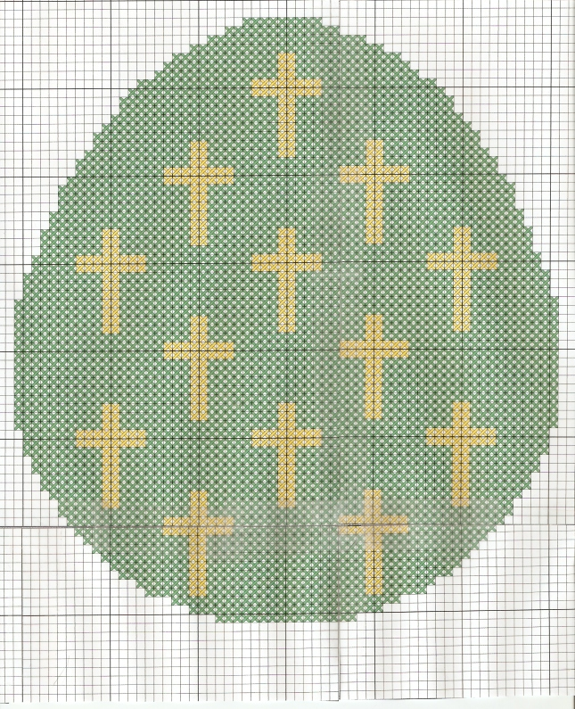 Egg with Crosses0001