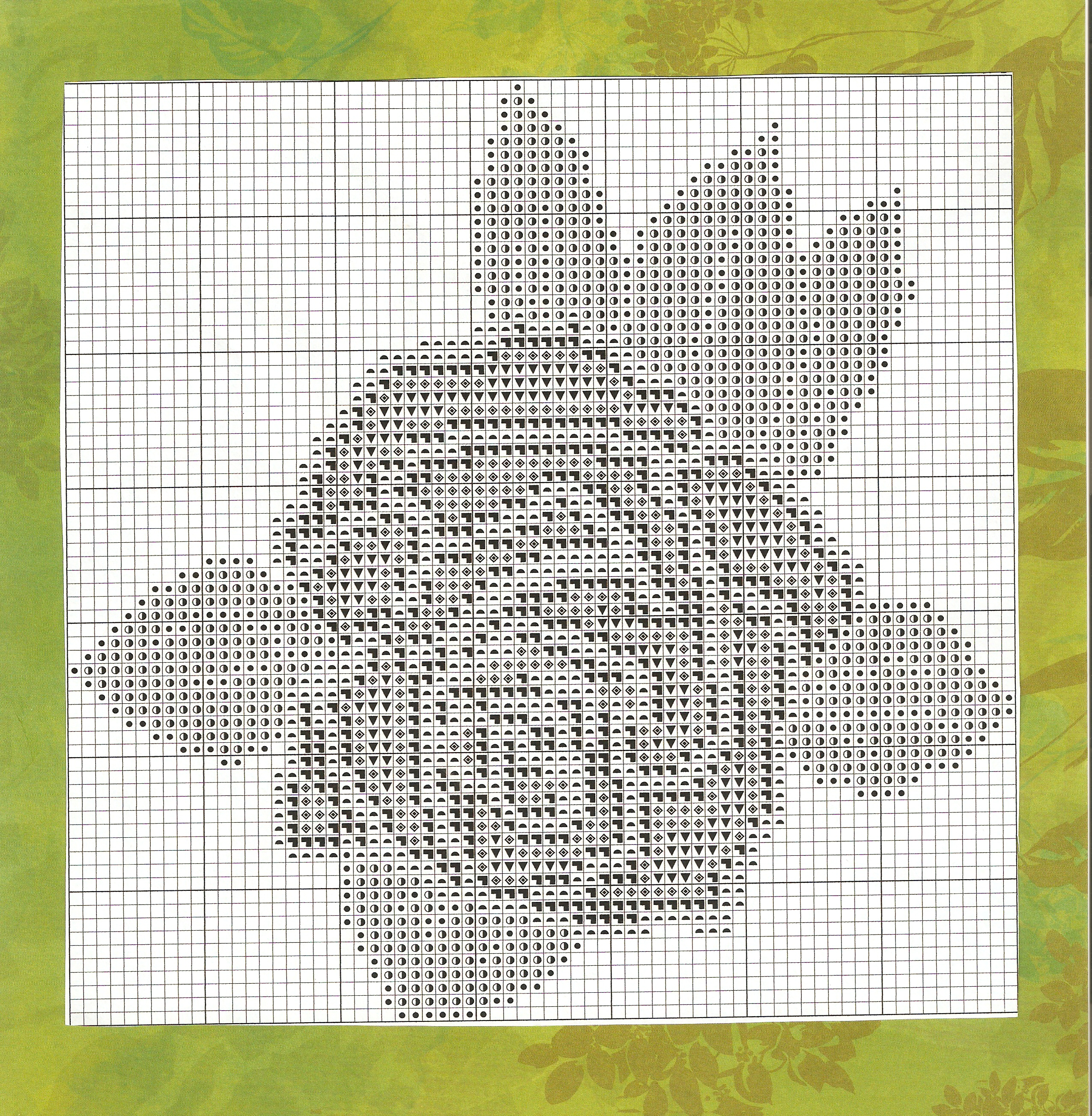 Free counted cross stitch chart a celebration of cross stitch dmc floss colors used for this design nvjuhfo Images
